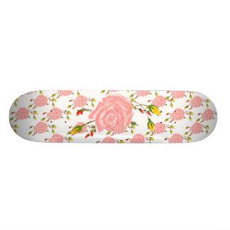Skate cor-de-rosa da flor