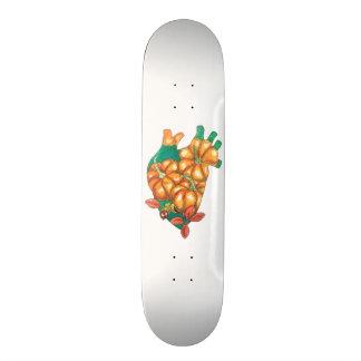 Skate coração do outono