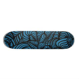 Skate corajoso do redemoinho azul