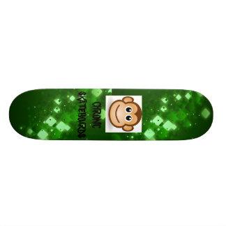 Skate crônico do macaco