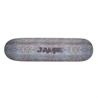 Skate customizável do estilo dos grafites