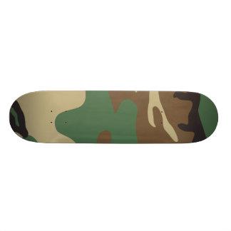 Skate da camuflagem