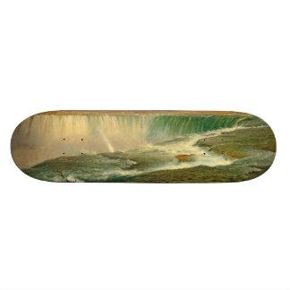 Skate de Canadá do rio da cachoeira de Niagara
