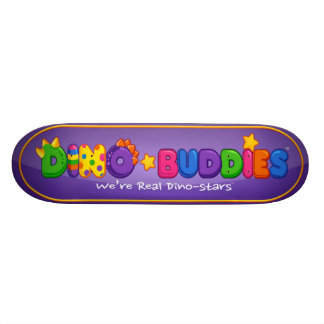 Skate de Dino-Buddies™ - logotipo 2 do DB