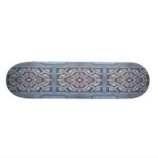 Skate de madeira do trabalho de Viking