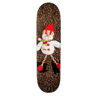 Skate Decoração do boneco de neve do Natal