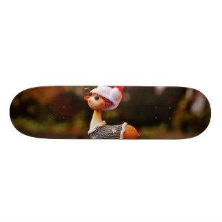 Skate Decorações da rena - rena do Natal