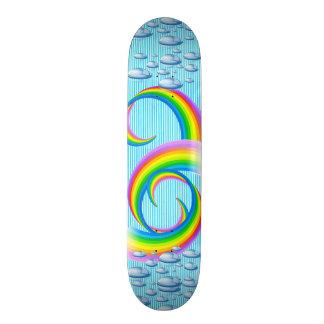 Skate Design à moda Skate-Colorido