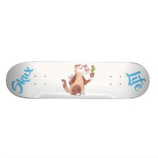 Skate do cacto da doninha da vida de Skux