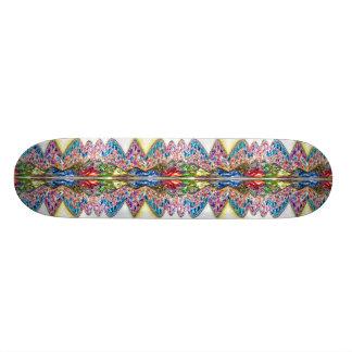 Skate do cristal de rocha do falso