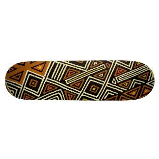 Skate do design de Kuba do africano