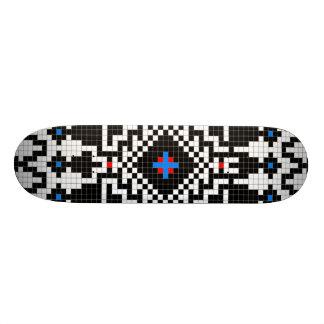 Skate do design do nativo americano