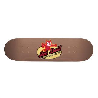 Skate do diabo vermelho