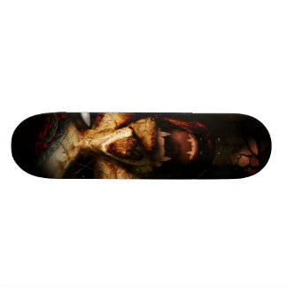 Skate do estilo do horror