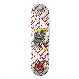 Skate do flash do tatuagem de Tommy