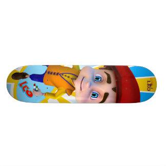 Skate do fundo do Sunray de Leo