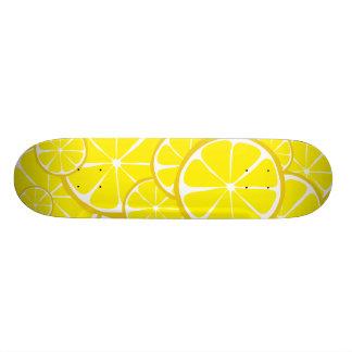 Skate do limão do citrino do verão