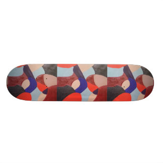 Skate do no. 6-2 do abstrato