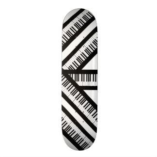 Skate do piano!