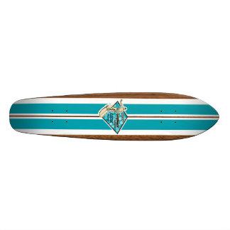 Skate do surf do vintage da baía de Waimea