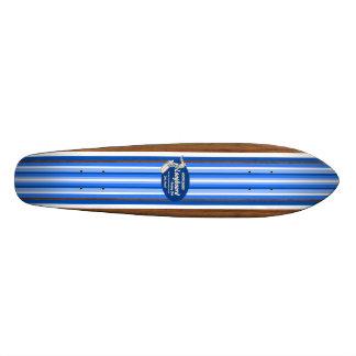 Skate do surf do vintage do encanamento