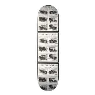 Skate dos carros vintage