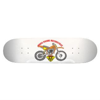 Skate dos desenhos animados do motocross de Maico