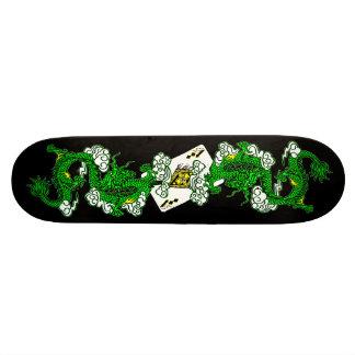 Skate dos dragões verdes do Avatar