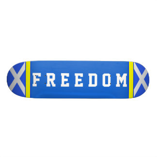 Skate escocês de Saltire da liberdade da