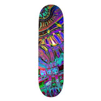 Skate Espectro abstrato das formas