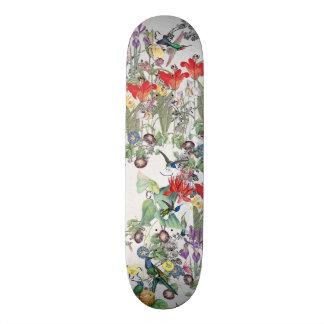 Skate floral animal dos animais selvagens do