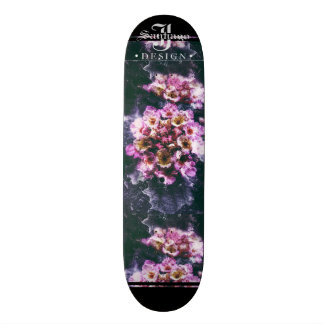 Skate Floral profundo