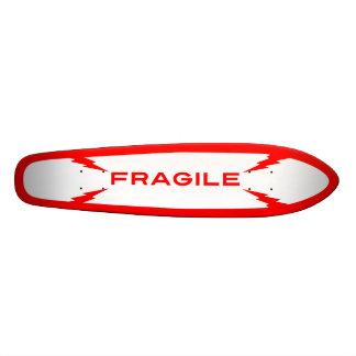Skate frágil Oldschool do símbolo