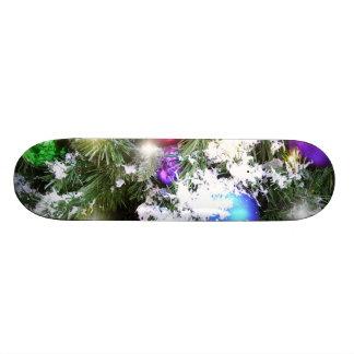 Skate - fulgor do Natal & neve do falso