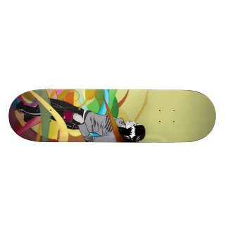 "Skate ""Garota abstrata"""