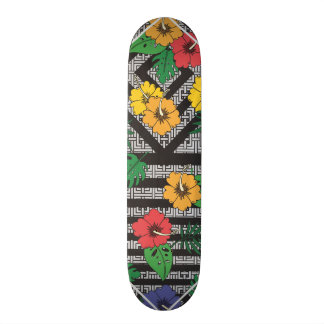 Skate geométrico da flor