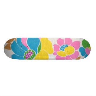 Skate Groovy de flower power