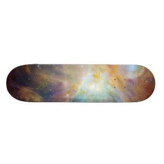 Skate, imagem da galáxia shape de skate 21,6cm