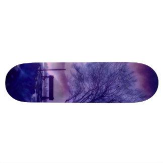 Skate Impressão impressionante B do inverno