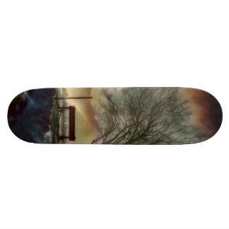 Skate Impressão impressionante C do inverno