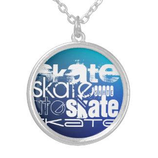 Skate; Inclinação azul Bijuterias