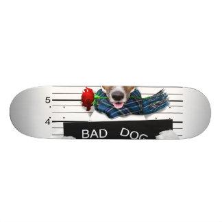 Skate Jaque engraçado russell, cão do Mugshot