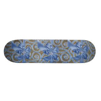 Skate Jeweled & do cristal de rocha do falso