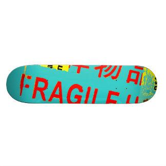 Skate Marcações FRÁGEIS - pacote descascado rasgado