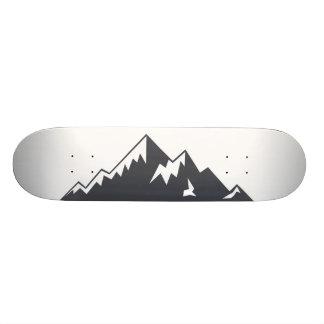 Skate nevado da montanha do vetor