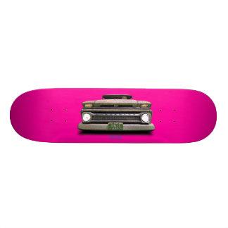 Skate O cavaleiro inoperante cor-de-rosa de Colorado