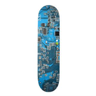 Skate O conselho de circuito do geek do computador -