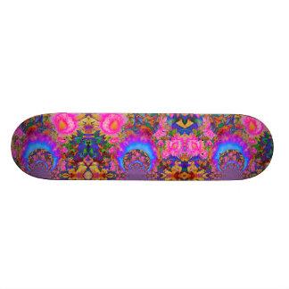 Skate O girassol coloca para sempre - o rosa