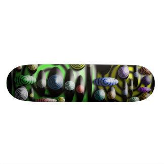 Skate original colorido