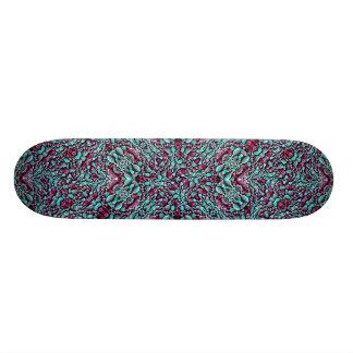Skate Ornamentado estilizado do luxo da textura